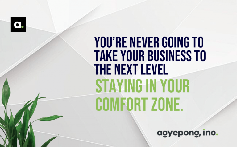 How To Break Out of Your Comfort Zone.